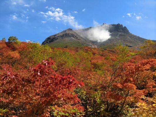 姥ヶ平から茶臼岳