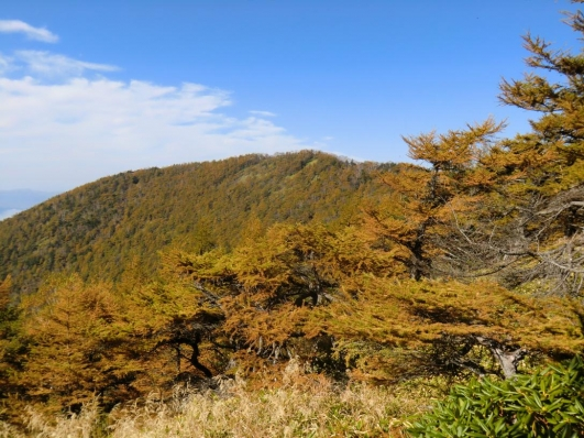 見晴台から高峰山