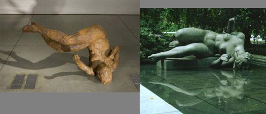 マイヨールとフィッシェルの彫刻の比較