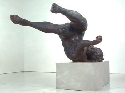Eric Fischl, Ten Breaths: Tumbling Woman