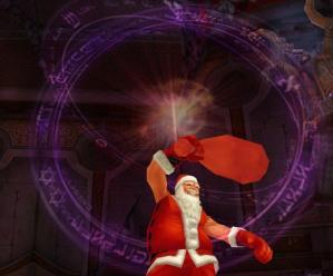 サンタだって魔法使えるんだい