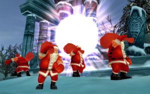 サンタさんがやってきたよ♪