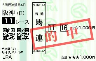 阪神JF_的中2