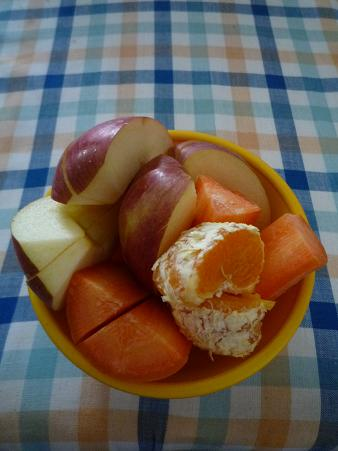 にんじんリンゴジュース材料