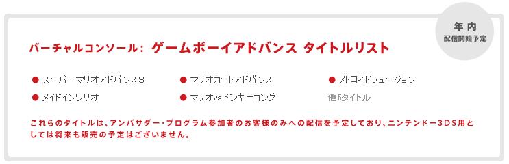 ニンテンドー3DS アンバサダー・プログラム_Nintendo