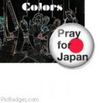 Colors prays for Japan
