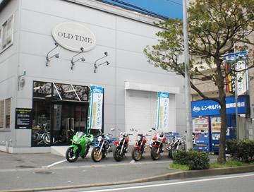 レンタルバイク福岡空港(勝手に拝借)