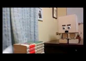 口から弾丸を発射するロボットを作ってみた