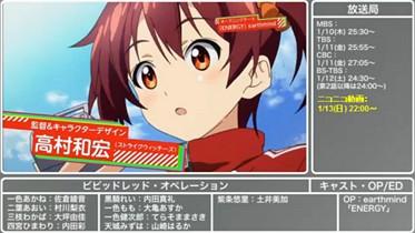2013年 冬アニメ紹介