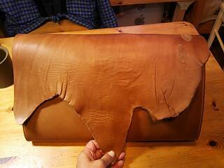 手縫い鞄3個目