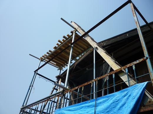 屋根塗2011.05.20 001-1