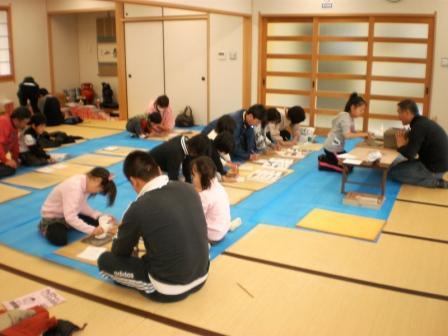 toubu文化教室制作風景