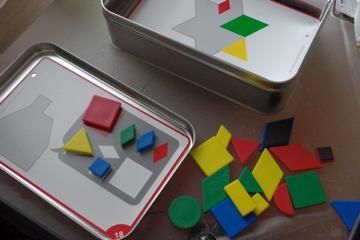 3歳のおくりものパズル