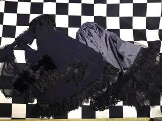 16少女用ドレスSet(黒)