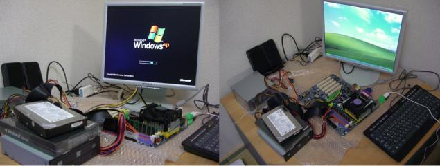 XPマシン完成