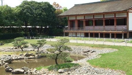 平城京左京三条二坊宮跡庭園