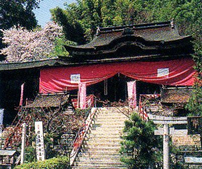 国宝 「都久夫須麻神社本殿」