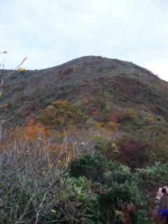 金糞岳から白倉山