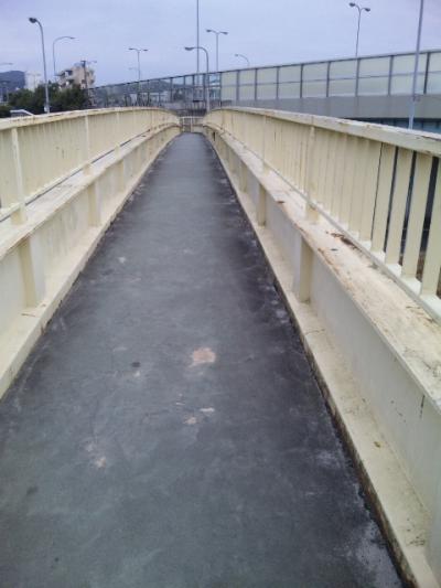 20100406揺れる歩道橋