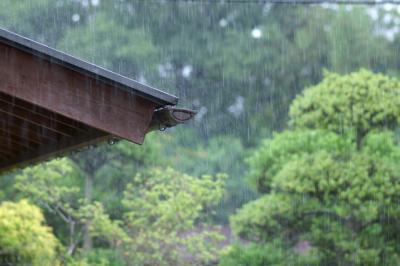 きのさき温泉も・・梅雨入り雨が・・雨が・・