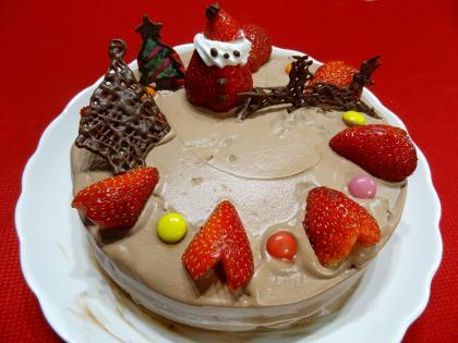 3チョコケーキ