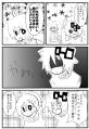 南田さんから(アホ毛漫画