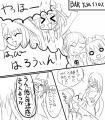 サクラさんからハロウィーン漫画4