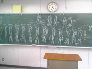 黒板(細桜鬼)