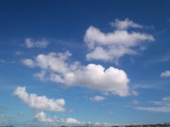 石川漁港の空