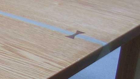 タモのテーブル 再生できるシルバーラインバージョン