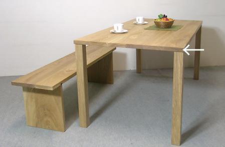 テーブルを選ぶ時は木口をチェック