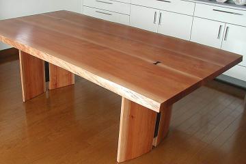 アサダのテーブル:木表