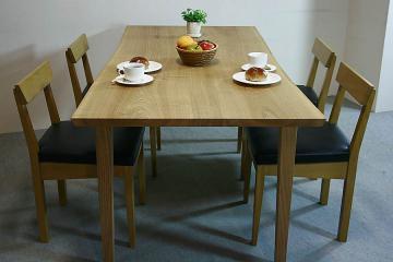 タモのテーブル:木裏