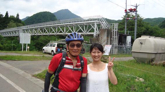 68歳のサイクリストと