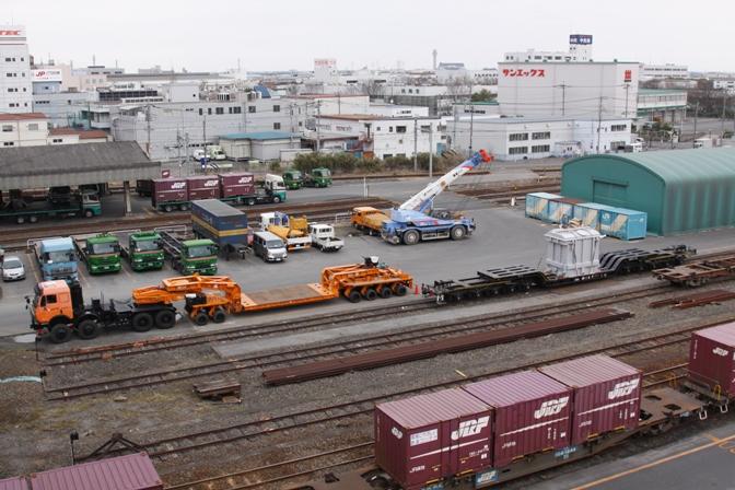 シキ180 越谷貨物ターミナル