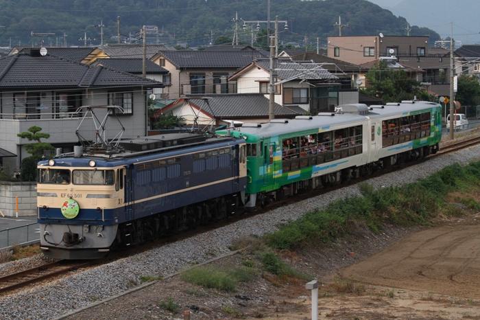 EF65 501 風っこ