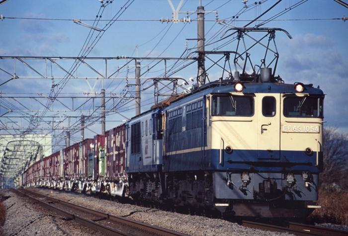 2092レ EF65 1054+EF64 10**