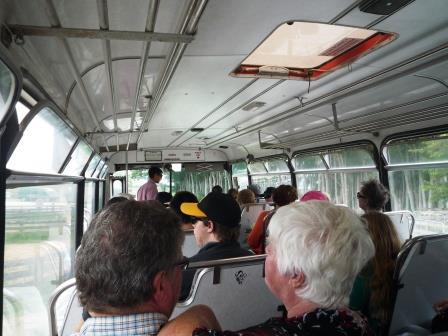 ホビット村バス移動