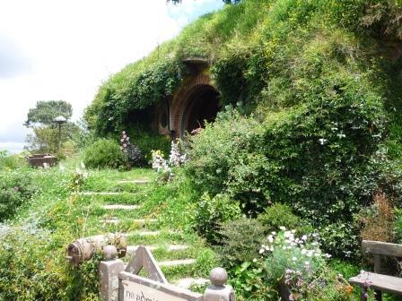 ホビット村ビルボ・バギンズの家