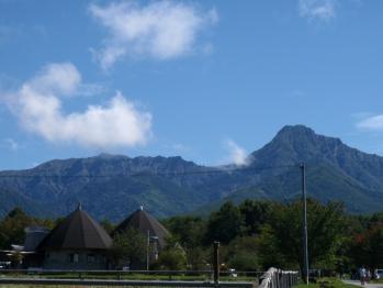 八ヶ岳農場実践大学校から眺める八ヶ岳