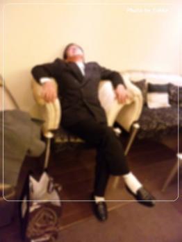 akiraおじちゃんお疲れモード・・・
