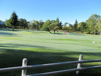 八ヶ岳自然園内のパターゴルフ場