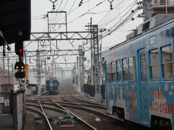 阪堺路面電車まつりの行き帰り02