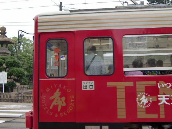 阪堺路面電車まつりの行き帰り04