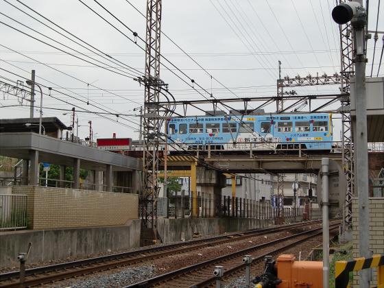 阪堺路面電車まつりの行き帰り07