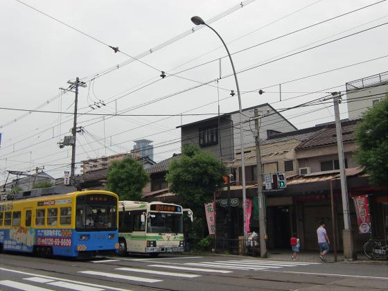 阪堺路面電車まつりの行き帰り08