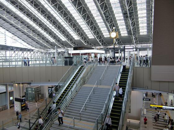 NEW大阪駅~三越伊勢丹・LUCUA~02