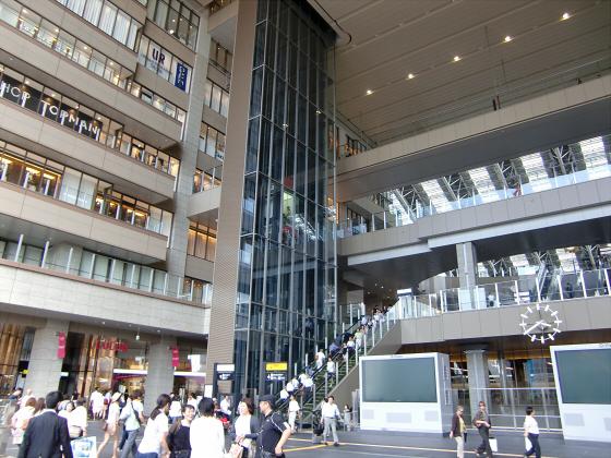 NEW大阪駅~三越伊勢丹・LUCUA~05