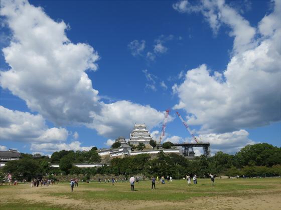 姫路城2014年9月-03