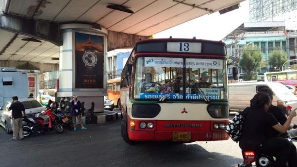 13番バス